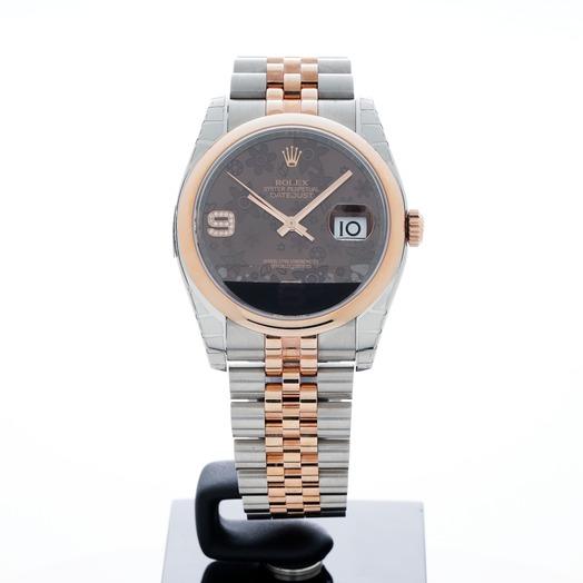 ロレックス Datejust Two Tone Brown/18k rose gold Ø36mm