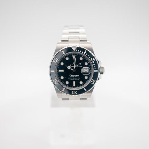 ロレックス サブマリーナー 自動巻き ブラック 文字盤 ステンレス メンズ 腕時計 126610LN-0001