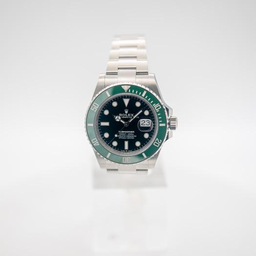 ロレックス サブマリーナー 自動巻き ブラック 文字盤 ステンレス メンズ 腕時計 126610LV-0002