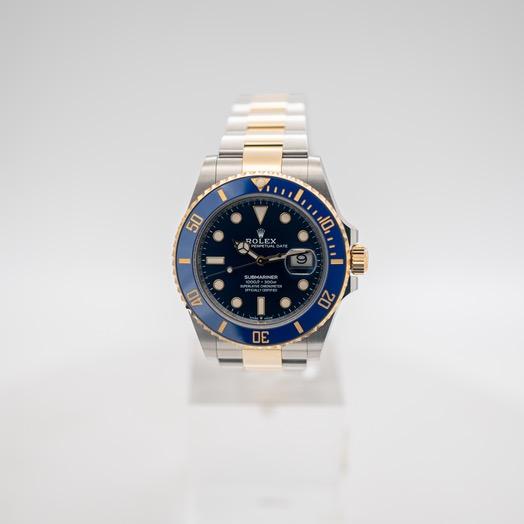 ロレックス サブマリーナー 自動巻き ブルー 文字盤 ステンレス メンズ 腕時計 126613LB-0002
