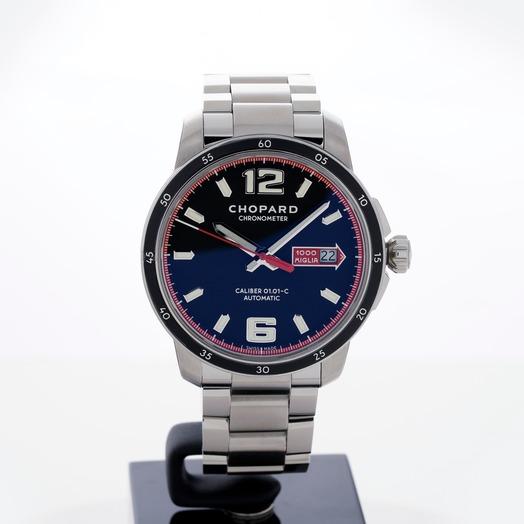 ショパール クラシック レーシング 自動巻き ブラック 文字盤 ステンレス メンズ 腕時計 158565-3001