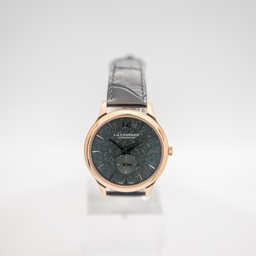 ショパール L.U.C. 自動巻き グリーン 文字盤 ローズゴールド メンズ 腕時計 161948-5002