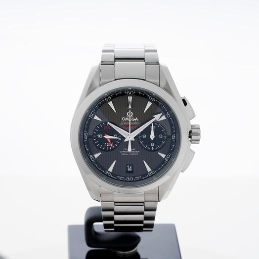オメガ シーマスター 自動巻き グレー 文字盤 ステンレス メンズ 腕時計 231.10.43.52.06.001