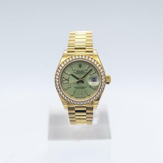 ロレックス レディ デイトジャスト Diamond Dial Ladies Watch