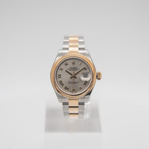 ロレックス レディ デイトジャスト Silver Dial Ladies Watch