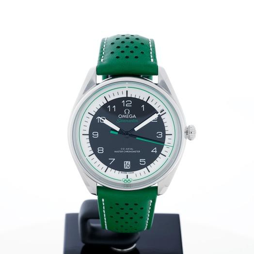 オメガ シーマスター 自動巻き ブラック 文字盤 グレー メンズ 腕時計 522.32.40.20.01.005