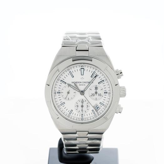 ヴァシュロンコンスタンタン オーバーシーズ自動巻き シルバー 文字盤 ステンレス メンズ 腕時計 5500V/110A-B075