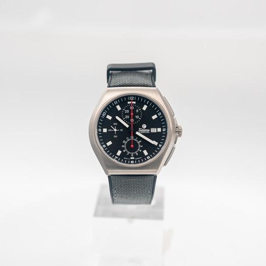 チュティマ  グラスヒュッテ M2 自動巻き ブラック 文字盤 チタニウム メンズ 腕時計 6430-05