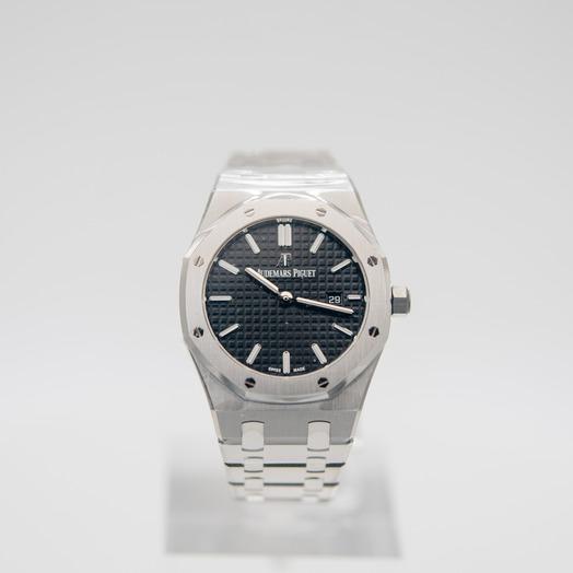 オーデマピゲ ロイヤルオーク クォーツ ブラック 文字盤 ステンレス レディース 腕時計 67650ST.OO.1261ST.01