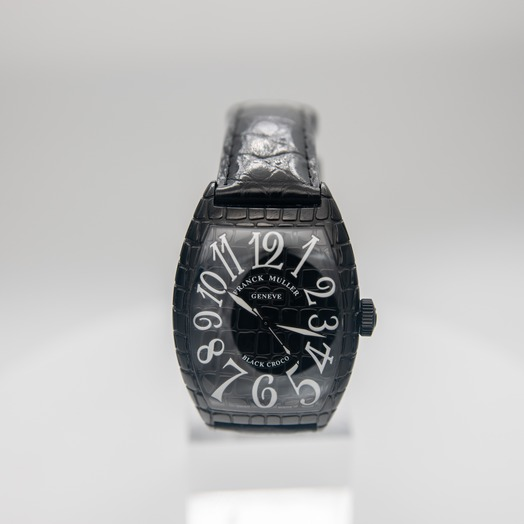 フランクミュラー Cintree Curvex Black Automatic Watch 39mm 8880 SC BLKCRO AC