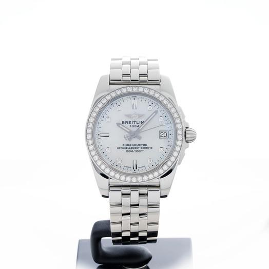 ブライトリング Breitling Watch Galactic 36 SleekT Pearl Diamond A7433053/A780