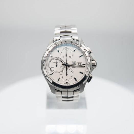 タグ ホイヤー リンク 自動巻き Silver Dial Ladies Watch