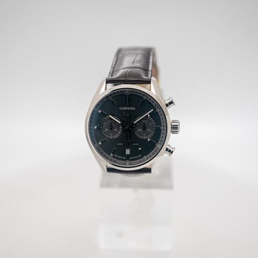 タグ ホイヤー タグ  ホイヤー カレラ 自動巻き グレー 文字盤 ステンレス メンズ 腕時計 CBN2012.FC6483