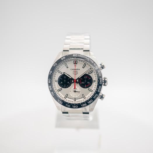タグ ホイヤー タグ  ホイヤー カレラ 自動巻き グレー 文字盤 グレー メンズ 腕時計 CBN2A1D.BA0643