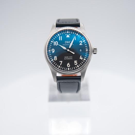 IWC パイロット・ウォッチ・マークXVIII ブラック/ステンレス/革 Ø40mm IW327009