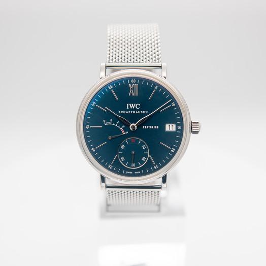 IWC ポートフィノ・ハンドワインド・エイトデイズ ブルー/ステンレス Ø45mm IW510116