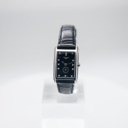 ロンジン DolceVita Small  Black Dial Diamond Ladies Watch L52554570