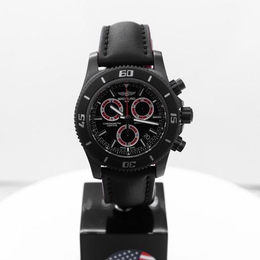 ブライトリング Superocean Chronograph Black Dial Men's Limited Edition Watch 46mm M73310B7/BB72