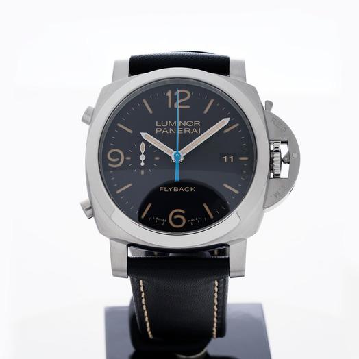 パネライ ルミノール 1950 自動巻き ブラック 文字盤 ステンレス メンズ 腕時計 PAM00524