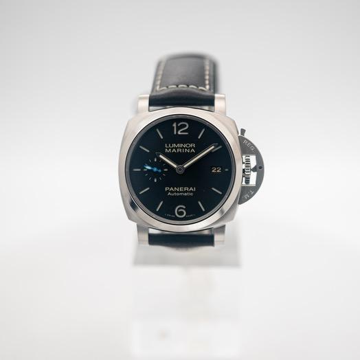 パネライ ルミノール 自動巻き ブラック 文字盤 ステンレス メンズ 腕時計 PAM02392
