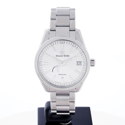 グランドセイコー 9R スプリングドライブ スプリングライブ シルバー 文字盤 ステンレス メンズ 腕時計 SBGA299